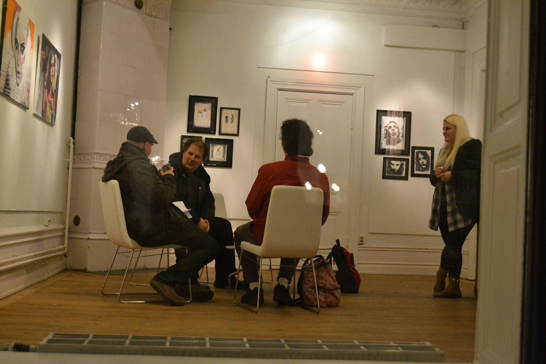 Konst vernissage torsdag galleri kocks kocksgatan 18 2