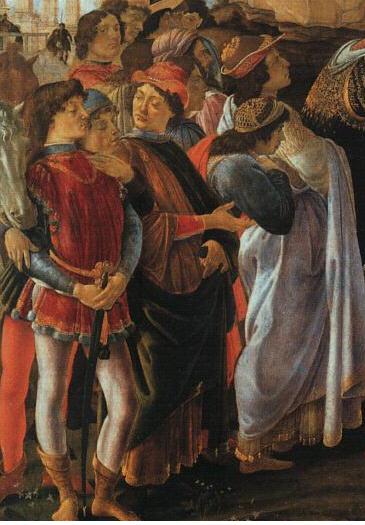 Botticelli_magi_detail