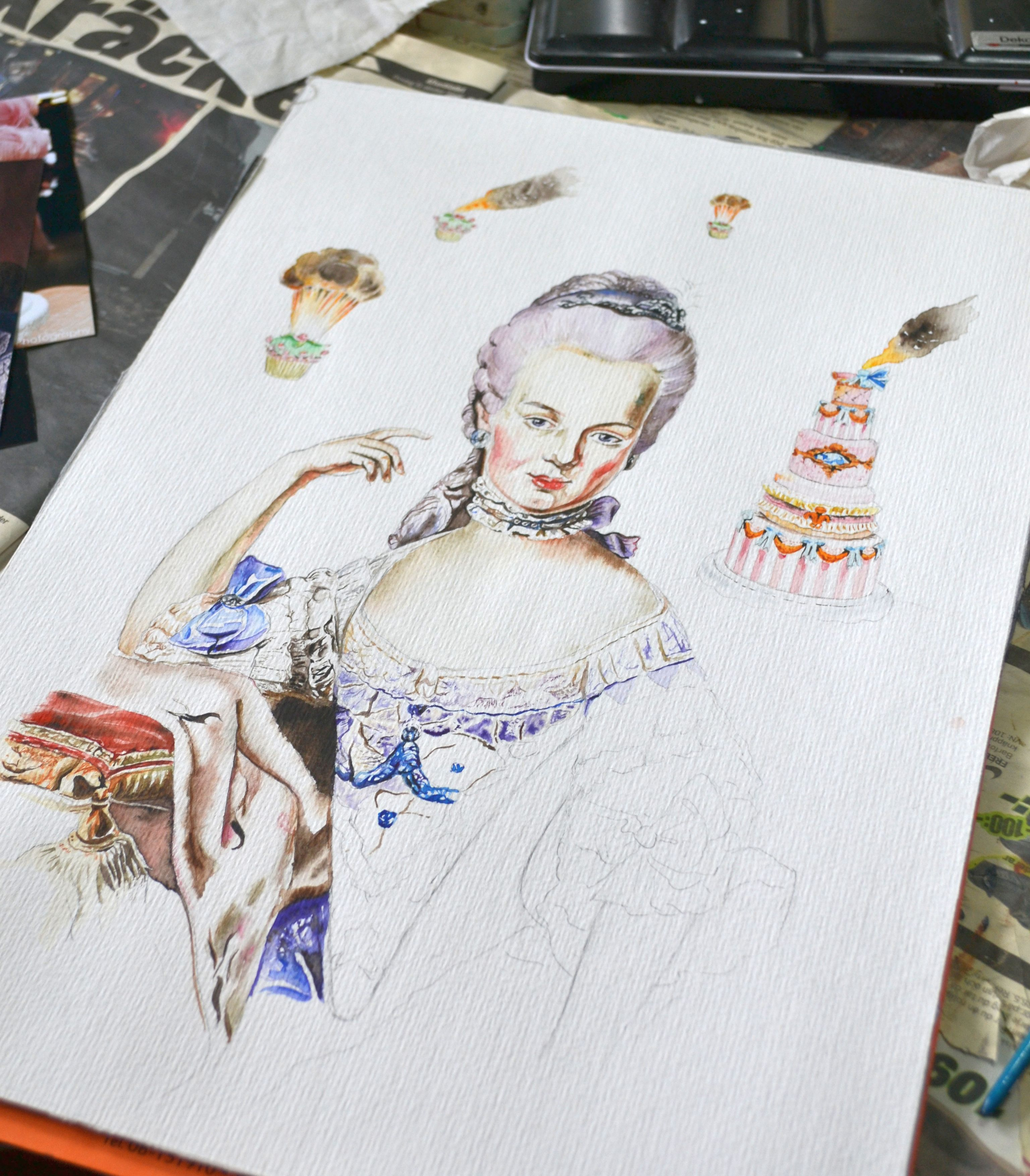 Marie Antoinette under progress 02 crop