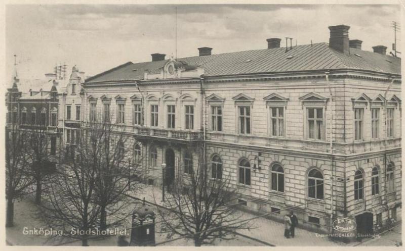 Enköping - Stadshotellet 1924