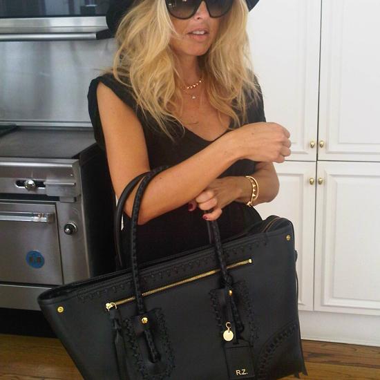 Rachel-Zoe-Shows-Off-Her-Alexander-McQueen-Diaper-Bag