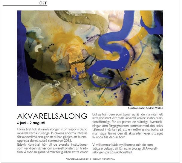 akvarellsalong