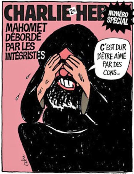 Prophet Muhammad Cartoon Charlie Hebdo 08